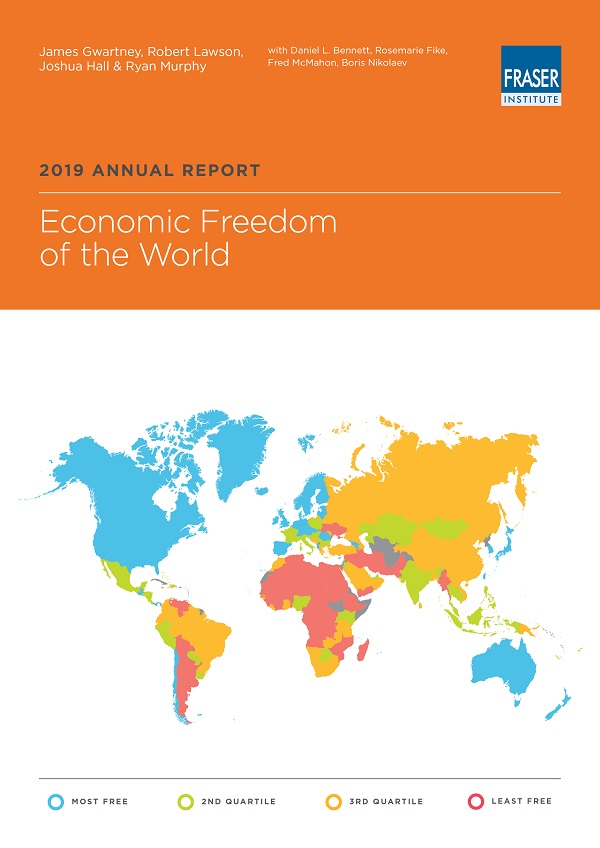 Copertina di Economic Freedom of the World 2019
