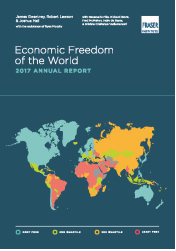 Copertina di Economic Freedom of the World 2017