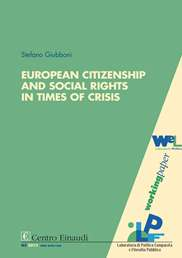 Copertina di European Citizenship and Social Rights in Times of Crisis