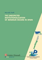 Copertina di The Unexpected Institutionalization of Minimum Income in Spain