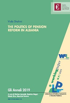 Copertina di The Politics of Pension Reform in Albania