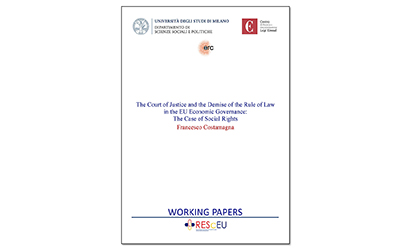 The Court of Justice and the Demise of the Rule of Law in the EU Economic Governance: The Case of Social Rights