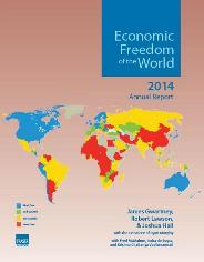 Copertina di Economic Freedom of the World 2014