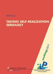 Copertina di Taking Self-Realization Seriously. A Critique of the Rawlsian Argument for Equality of Opportunity