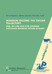 Copertina di Minimum Income: The Italian Trajectory
