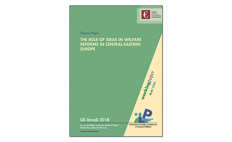 The Role Of Ideas In Welfare Reforms in Central-Eastern Europe